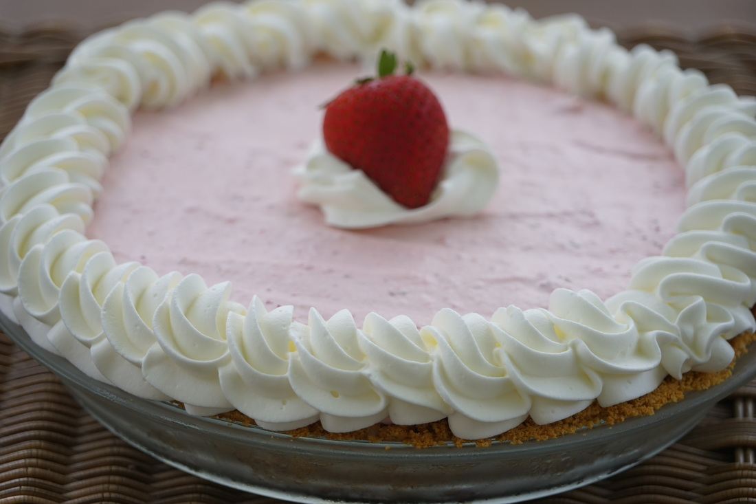 Frozen strawberry pie is a perfectly refreshing treat for hot summer ...