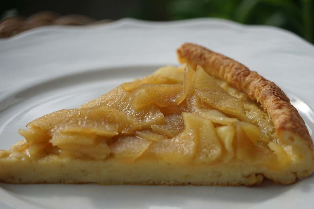 German Pancake with Brown Sugar Apple Topping - My Story ...